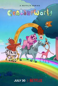 ดูการ์ตูนแอนนิเมชั่นออนไลน์ Centaurworld (2021) โลกเซนทอร์   Netflix